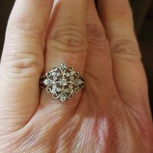Sterling Silver Gem Ring